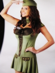 Sexy Major Trouble Womens Costume